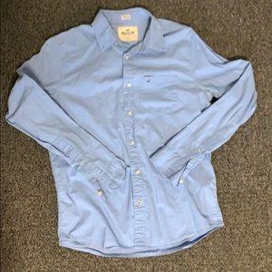 Hollister Stretch Button Down Shirt
